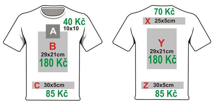 Zálohu je možné uhradit hotově při dodání vlastního trička 27840cc02b